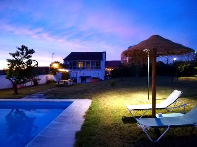 VILLA FANTA, casa cerca de Ourense y Ribeira Sacra