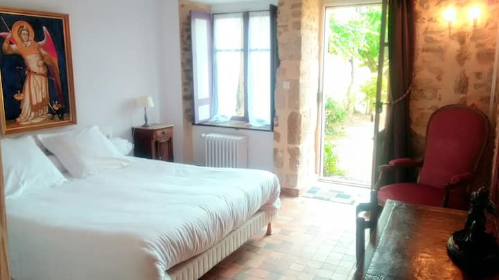 Chambre Voltaire au Vieux château d 'Airvault