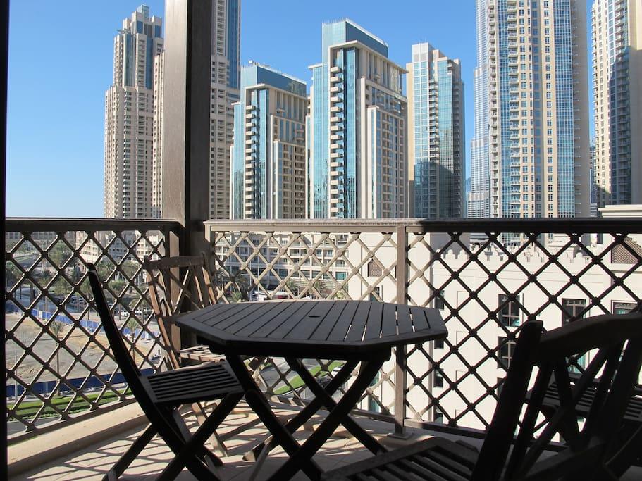 View from Dining room, Burj Dubai or Burj Khalifa