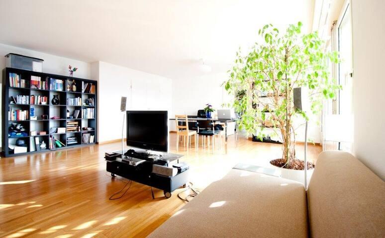 Masterbedroom in Duplex Apartment