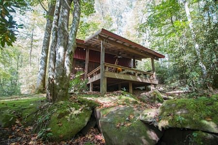 Glamping Barn: Private Hiking Trails, Firepit