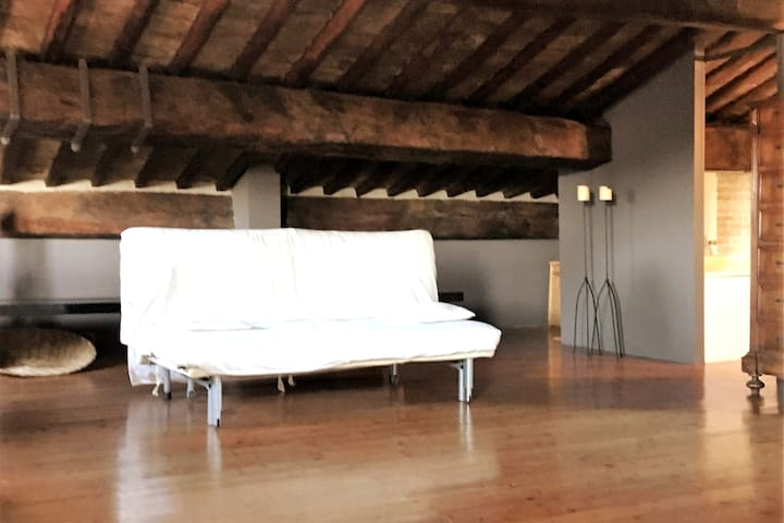 Romantic loft in the historical heart of Padova