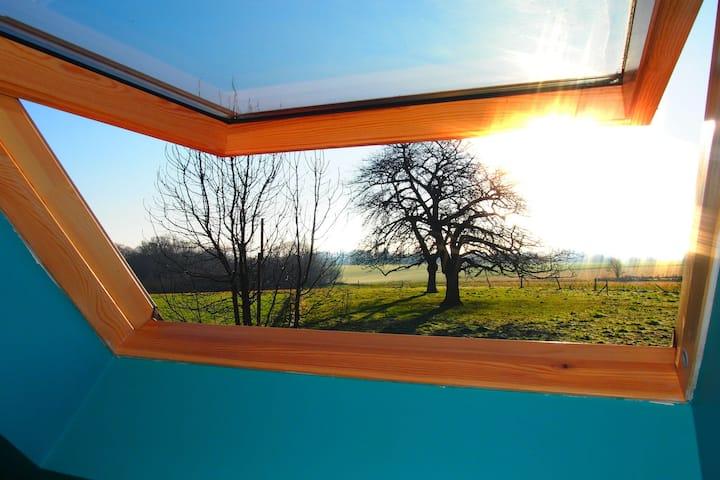 Maison de vacances confortable avec terrasse à Wodecq
