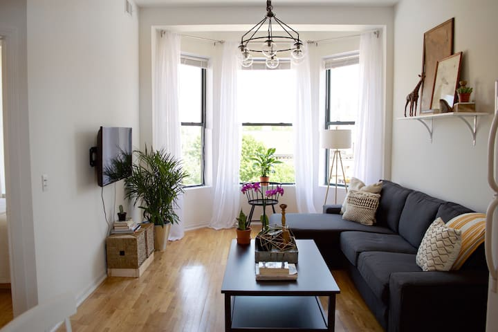 Sunny + Spacious 2 BR Apt in Downtown Chicago