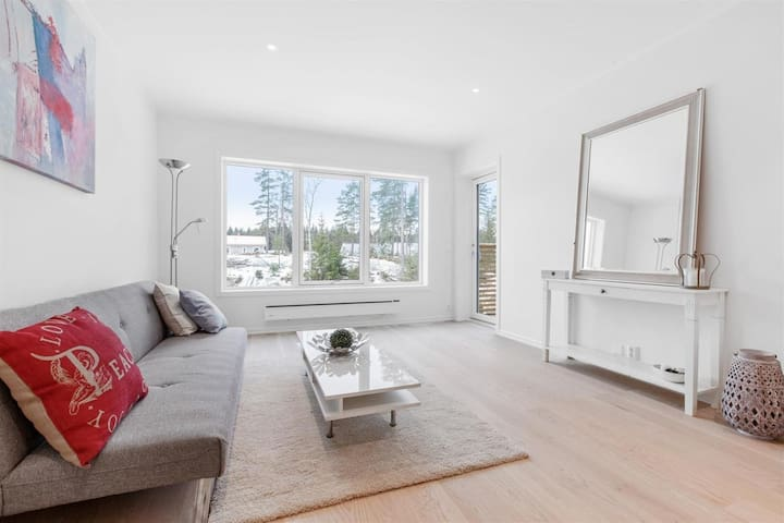 1 rom og bad i ny landlig beliggende bolig - Vestby - Talo