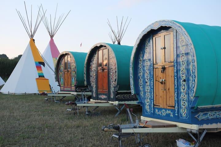 Gypsy Caravan, Literary Festival, Hay-0n-Wye - Hay-on-Wye - Other