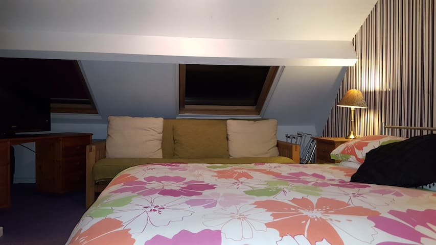 Double loft room near Guisborough Priory