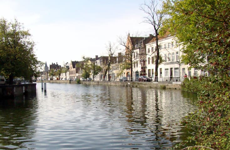 House along the canals! - Bruges - Townhouse