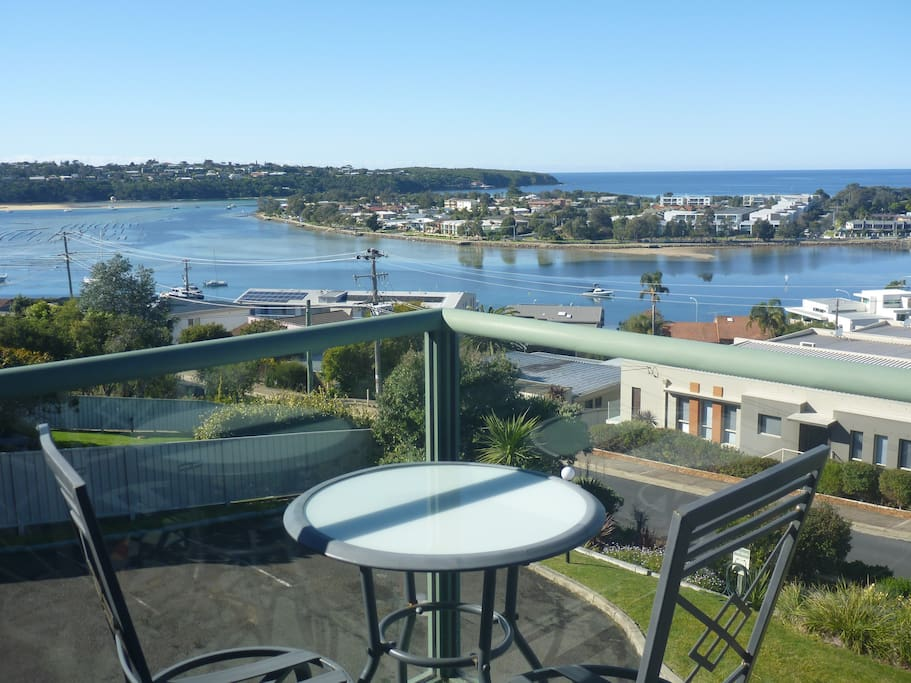 Incredible lake and ocean views from these 2 bedroom apartments.