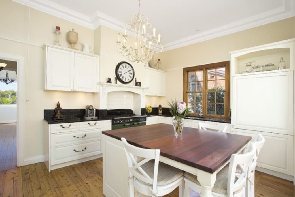 Our gourmet kitchen!