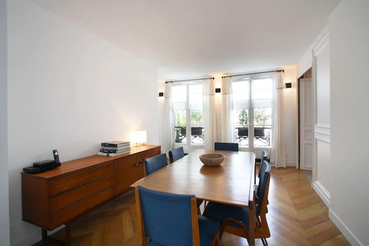 Beautiful and stylish Saint Germain - Paris - Wohnung