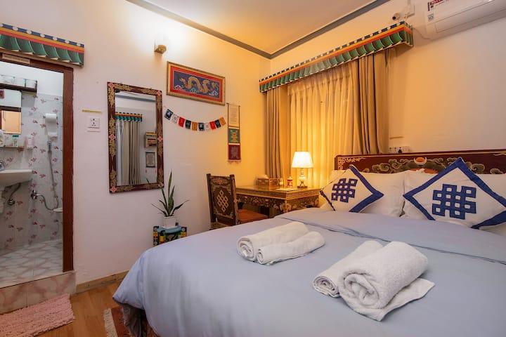 Experience Authentic Tibetan room