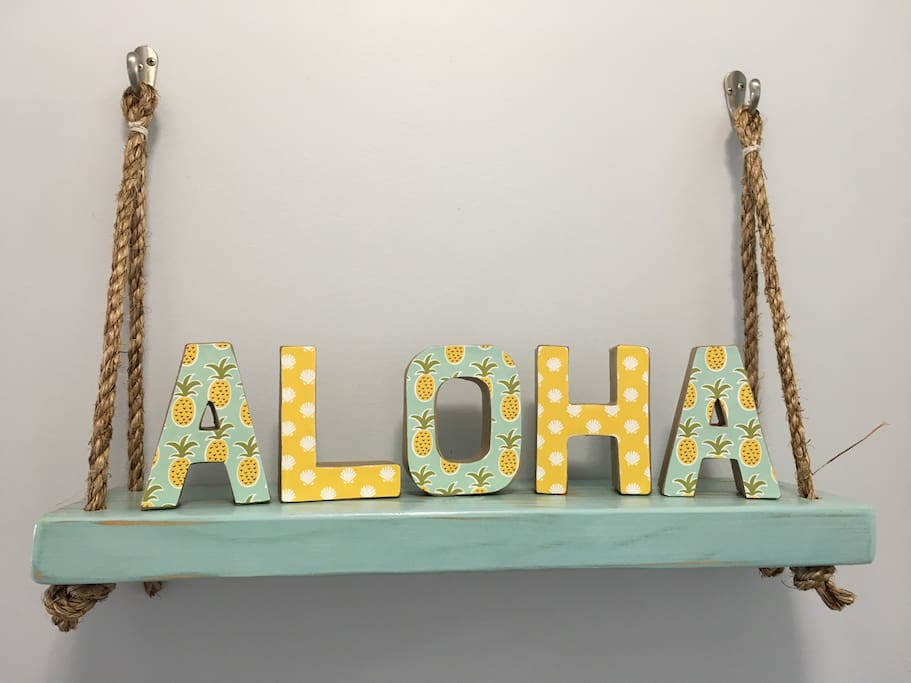 Aloha! Welcome to our home!