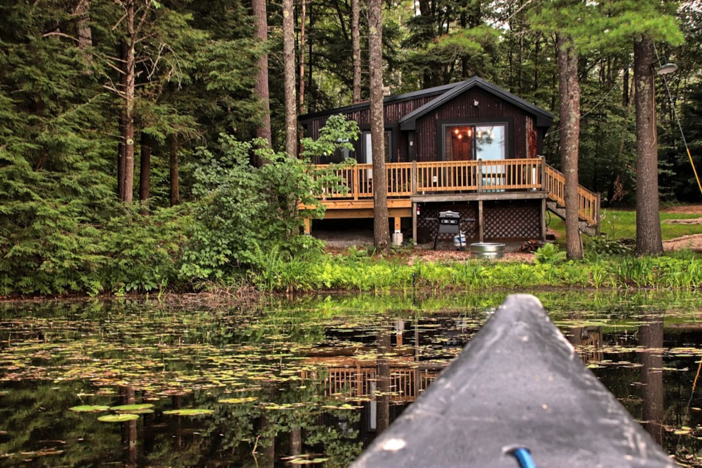 Writer's Retreat from on the Pond