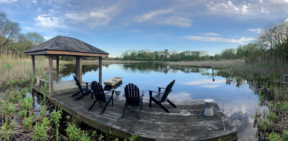 Modern Private Nature Sanctuary