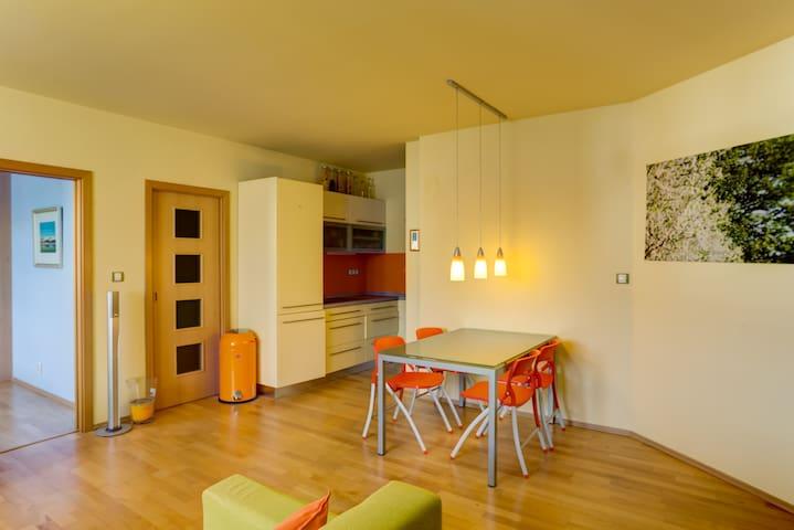 Quiet  flat in Art Nouveau house.  - Prague - Apartment