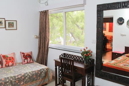 Exotic Mayas Nest close to Airport - New Delhi - Bed & Breakfast