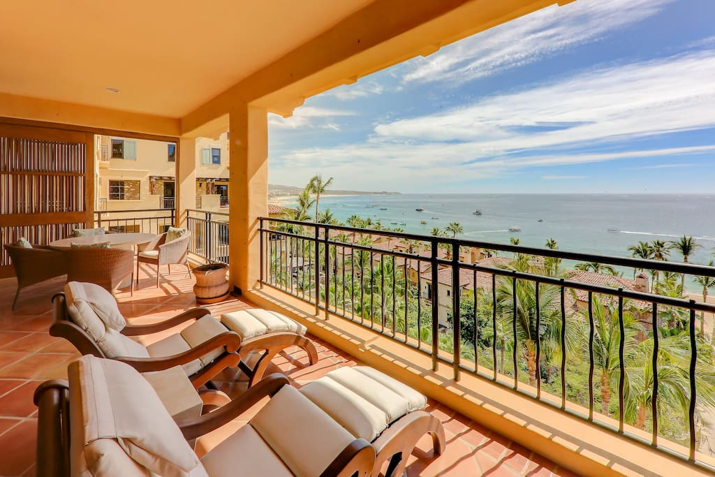 Patio with spectacular ocean view