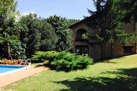 Chalet privato con piscina - swimming pool - Esanatoglia