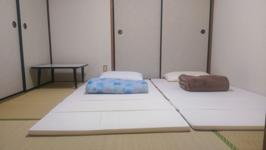 Clean Room in Tsukuba near Restaurants, 24Hr Store - Tsukuba-shi - Appartement