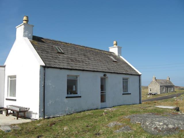 Rubha Charnain  - Isle of Barra - House