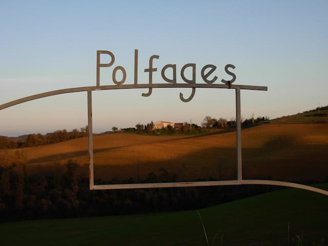 Polfages, where the mountains meet the sea
