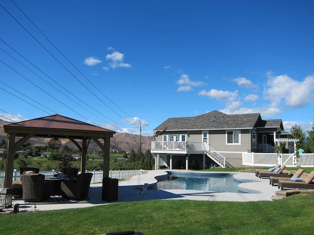 Large Beautiful Home with Pool! - Wenatchee - House