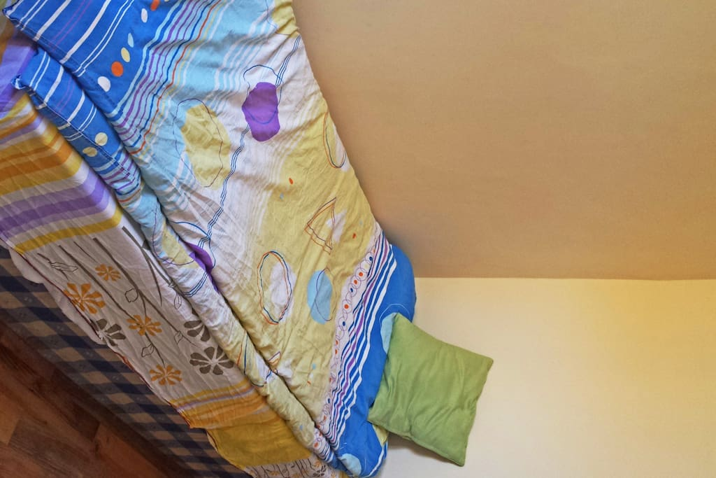 My lovely single bed