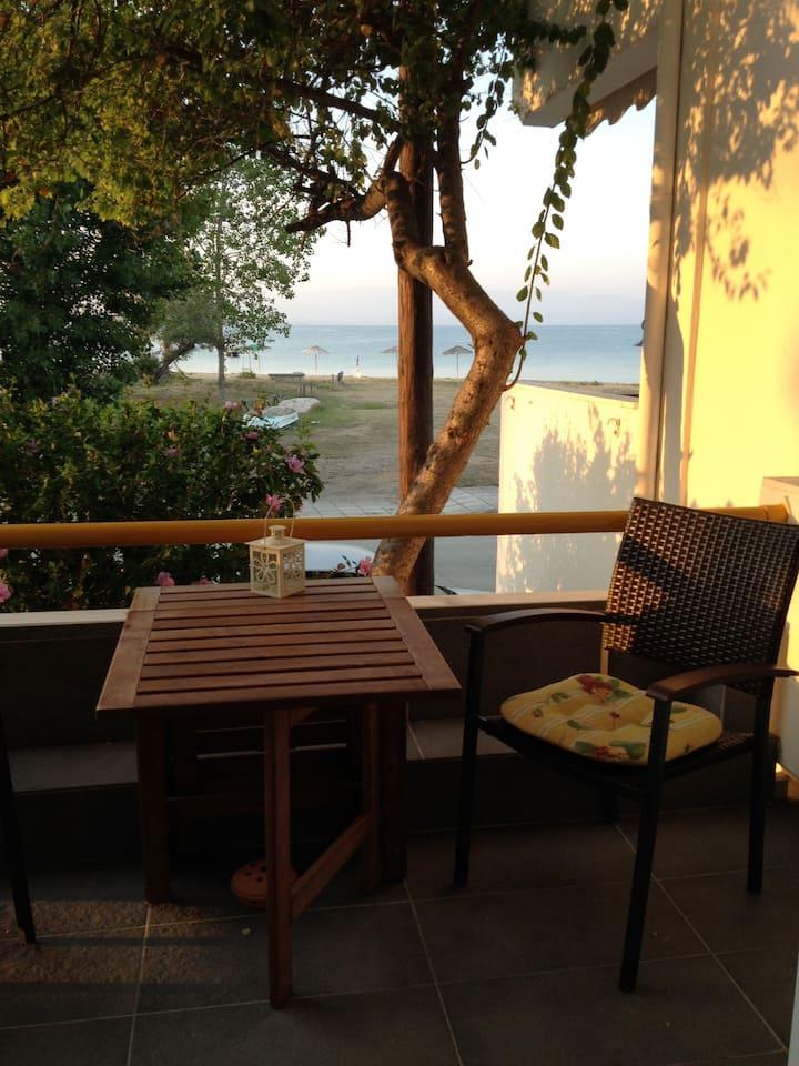Beachfront Holiday home in Potidea