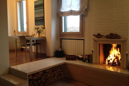 Design flat in old town centre - Dolo