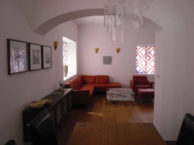 Very luxurious 4-8 person apartment - Mladé Buky - Apartament