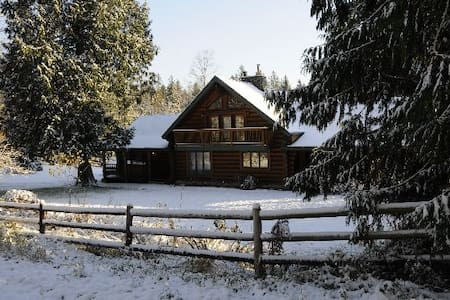 LOG HOME, 3 mi.to snohomish town  - Snohomish - Bed & Breakfast