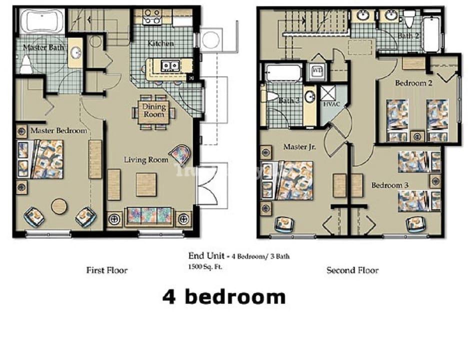 Plano total de la casa.