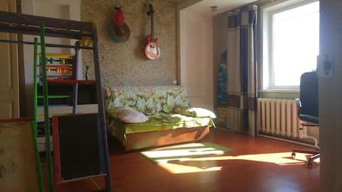 Комфортная квартира для семьи с ребенком