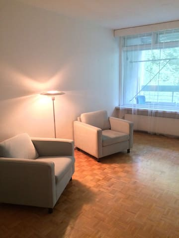 Light big apartment with easy access to downtown