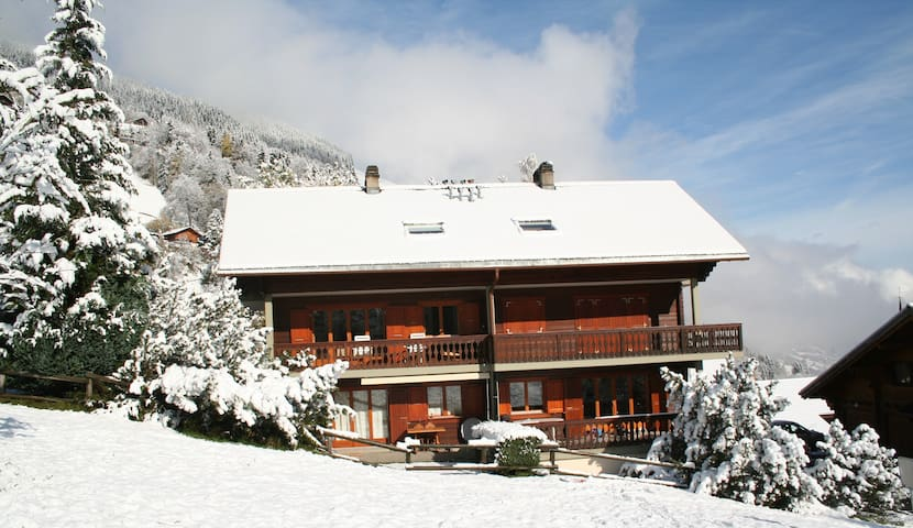 Beautiful view Portes du Soleil - Val-d'Illiez - Apartamento