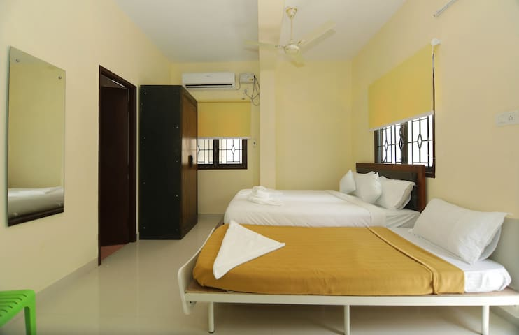 Family rooms with balcony, Customized meal option
