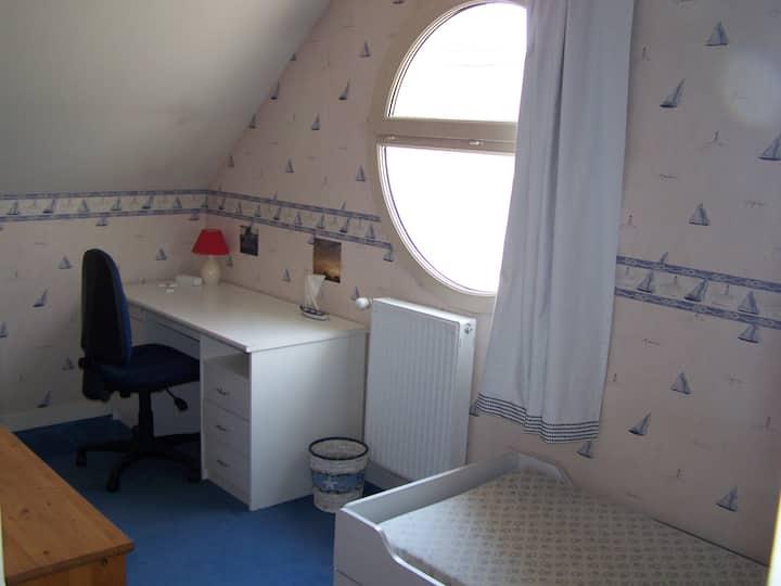 Chambre 1  dans maison moderne