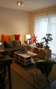 Comfortable sofa in private modern salon in Arlon - Arlon - アパート