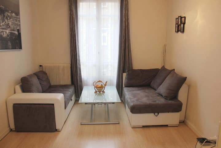 Apartment 45m2 fully furnished.