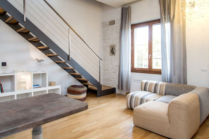 Amazing attic - Penthouse level - Firenze - Lejlighed