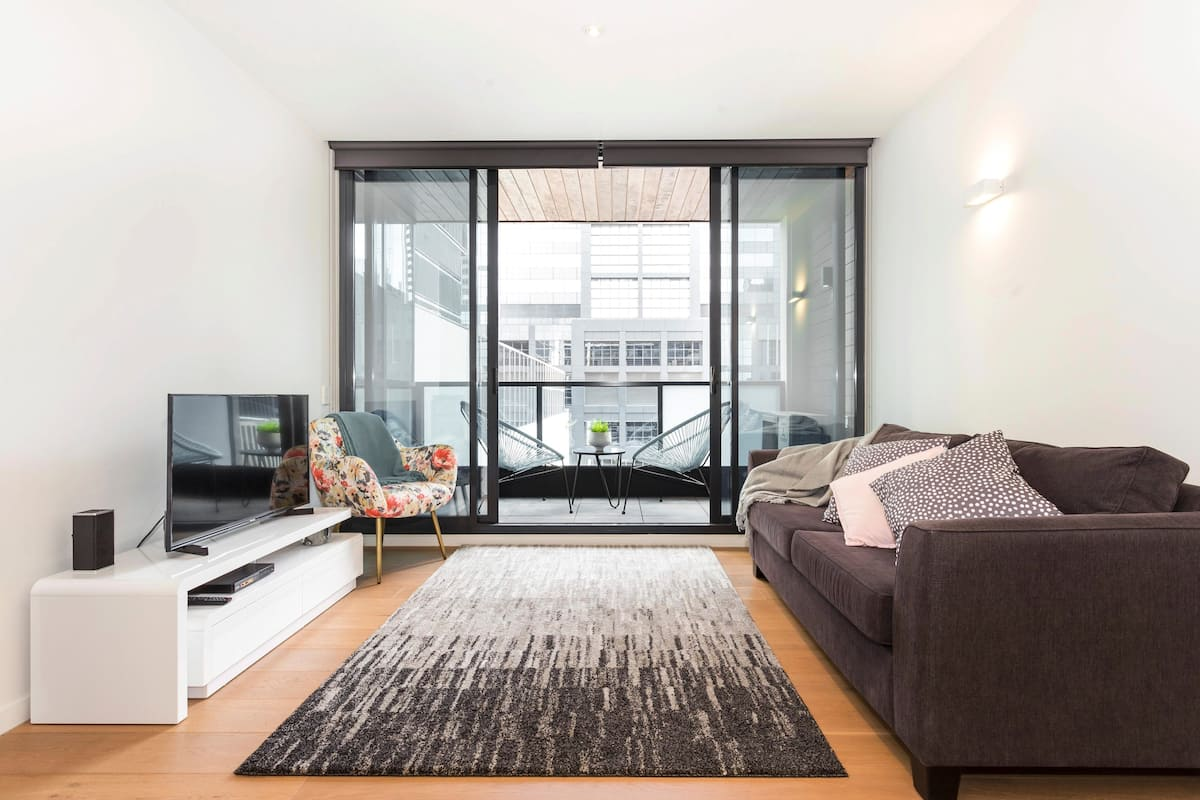 Sleek Apartment Close to Federation Square