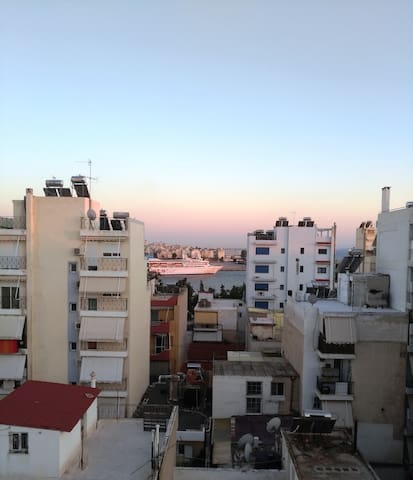 The view from our apartment