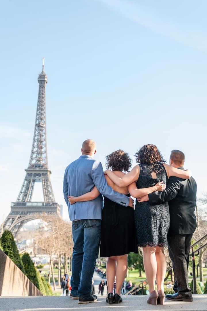 Friends photo walk, Eiffel Tower area