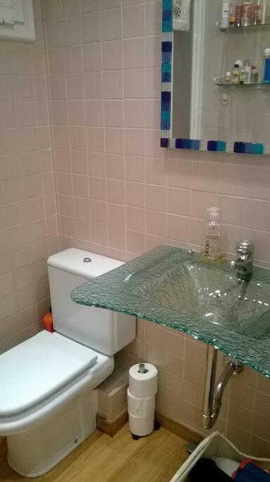 Baño de uso privado
