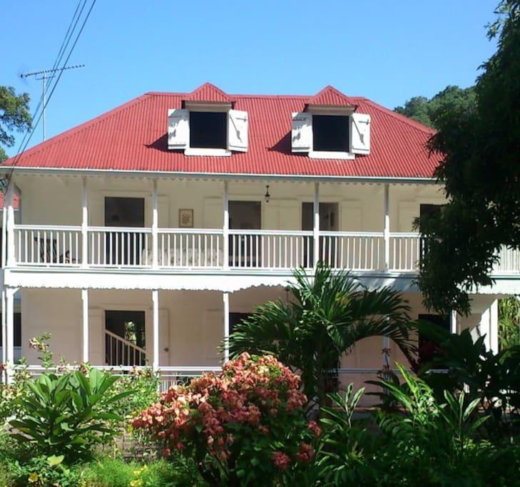 Habitation l'Oiseau: ancien plantation datant de 1916