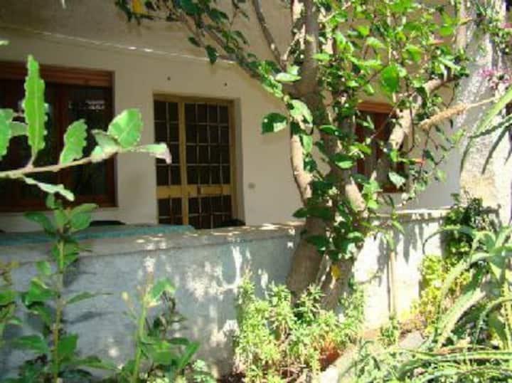 Spacious apartment garden and veranda Cala Gonone