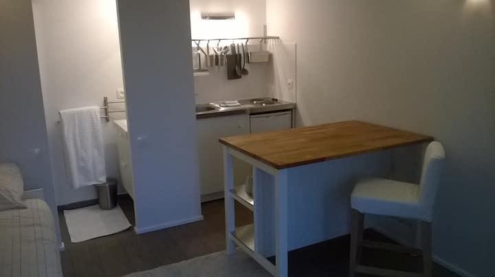 Chambre-Studio sur les hauteurs de Lyon