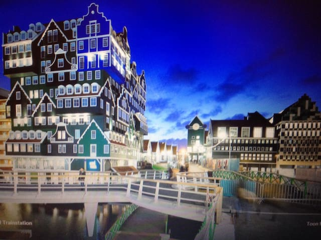 Indonesian welcome centre Zaandam - Zaandam - Apartamento