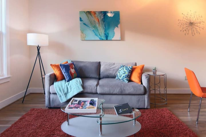 Energetic Space for Entertaining